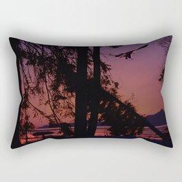 Evening Landing Rectangular Pillow