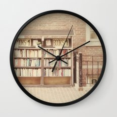 Dollar Books Wall Clock