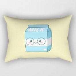 Kawaii Milk Rectangular Pillow