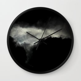 Stormy Clouds Wall Clock
