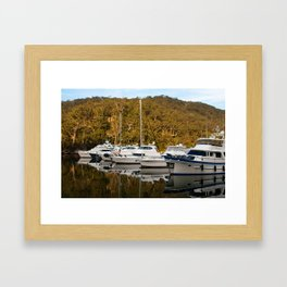 Empire Marina, Bobbin Head Framed Art Print