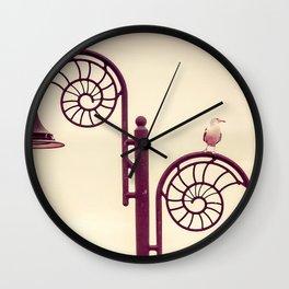 She Sells Seashells Wall Clock