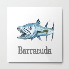 B is for Barracuda Metal Print