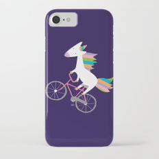 bike unicorn  iPhone 7 Slim Case