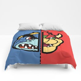 Old & New Bowser Comforters