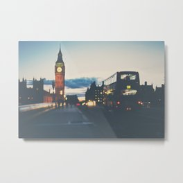 the night bus ...  Metal Print