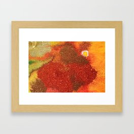 Red Sand Framed Art Print