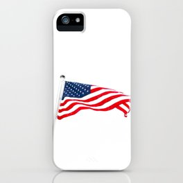 The American Flag (Color) iPhone Case