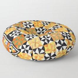 North Afghanistan Cotton Quilt Print Floor Pillow