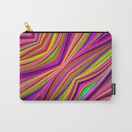 Rainbow Flow Abstact Carry-All Pouch
