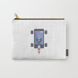 "Creative Drive - ""UI Designer Car"" Carry-All Pouch"