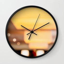Light #1 Wall Clock