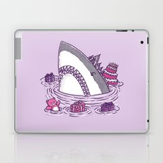 Birthday Princess Shark Laptop & iPad Skin