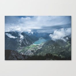 Alpine Lake // Landscape Photography Canvas Print