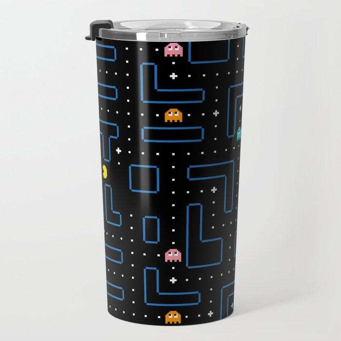 Pac-Man Retro Arcade Gaming Design Travel Mug