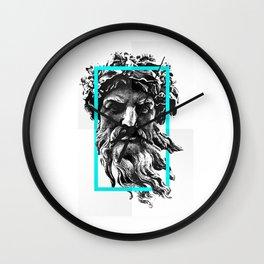 Greek Wall Clock
