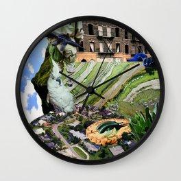 Half-Brain Wall Clock