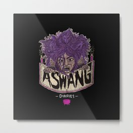 The Aswang Diaries Metal Print