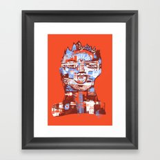 Red King Framed Art Print