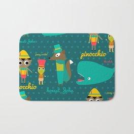 Pinocchio Bath Mat