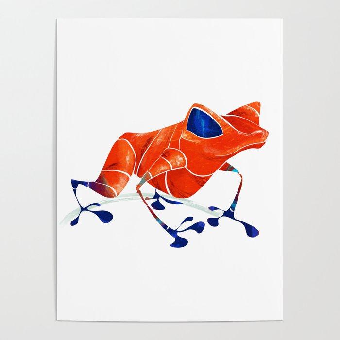 Poison Dart Frog Poster