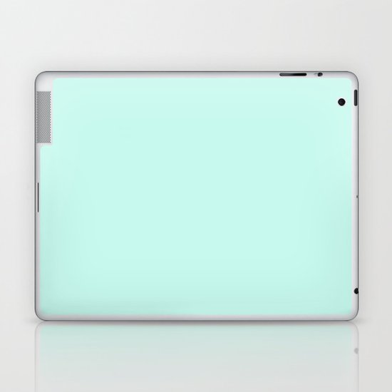 Sea Green Laptop & iPad Skin