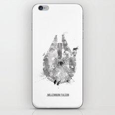 Star Wars Vehicle Millennium Falcon iPhone & iPod Skin