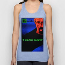 I am the danger Unisex Tank Top
