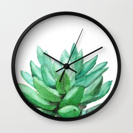 succulent echeveria Wall Clock