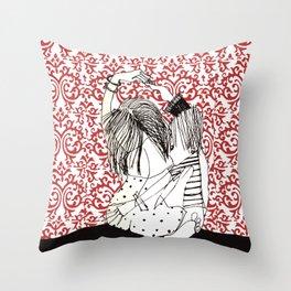 It takes two to tango! Throw Pillow