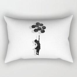 Banksy Fly Away  Rectangular Pillow