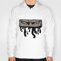 infamous Hoodies featuring Comic eyes (infamous) by  Steve Wade ( Swade)