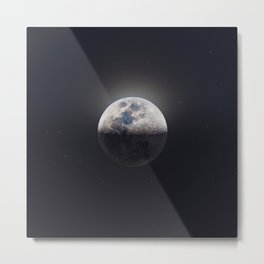 Moon Shot Metal Print