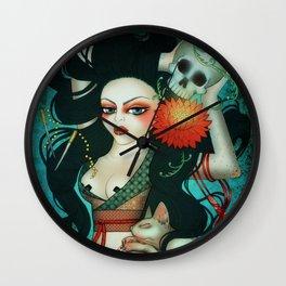 Sphynx Minx Wall Clock