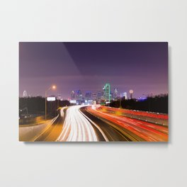 The Road to Dallas Metal Print