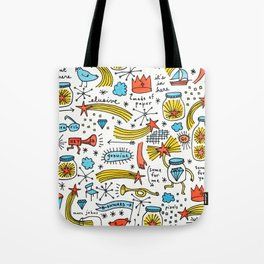 chasing stars and putting them in jars Tote Bag