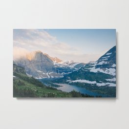 Hidden Lake, Glacier National park Metal Print