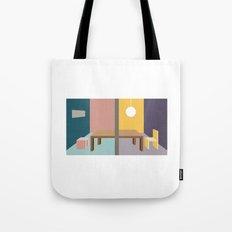 Sharing Table Tote Bag