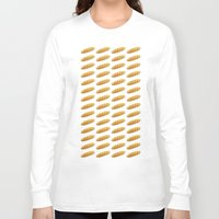 bread Long Sleeve T-shirts featuring bread by Bread Sports