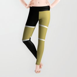 Team Color 6...black,gold Leggings
