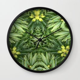 Celtic Yuletime Wall Clock