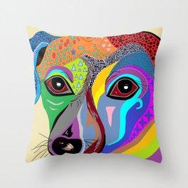 Chiweenie Throw Pillow