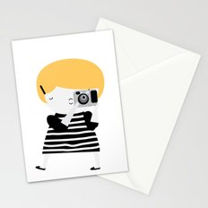The blonde photographer Stationery Cards