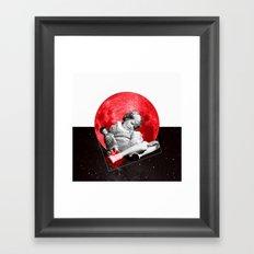 Sommeil Divin Framed Art Print