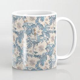 Water Swingers in Cream ( leafy sea dragon in blue and cream ) Coffee Mug