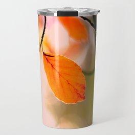 Autumn Bokeh Travel Mug