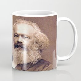Portrait of Karl Marx by John Jabez Edwin Mayal Coffee Mug