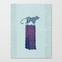 Forgive me, Tigress. Canvas Print