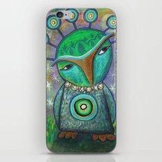 Alien Owl iPhone & iPod Skin