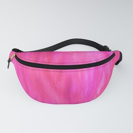 Neon Watercolor Fanny Pack